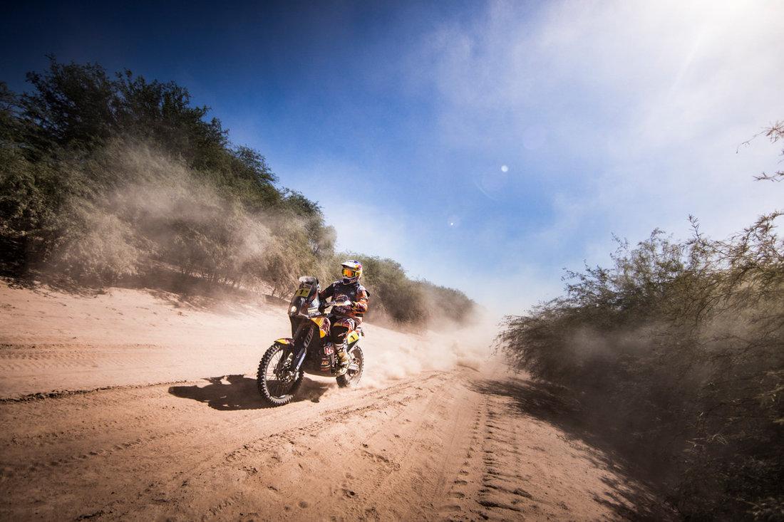 Toby Price KTM 450 RALLY Dakar 2017 – 2. etapa