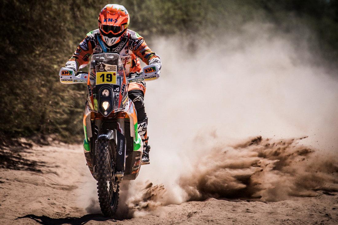 Laia Sanz KTM 450 RALLY Dakar 2017 – 2. etapa