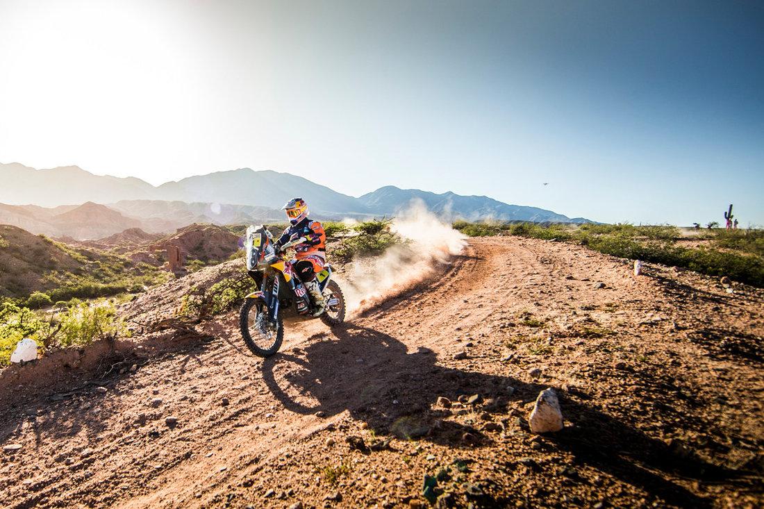 Toby Price KTM 450 RALLY Dakar 2017