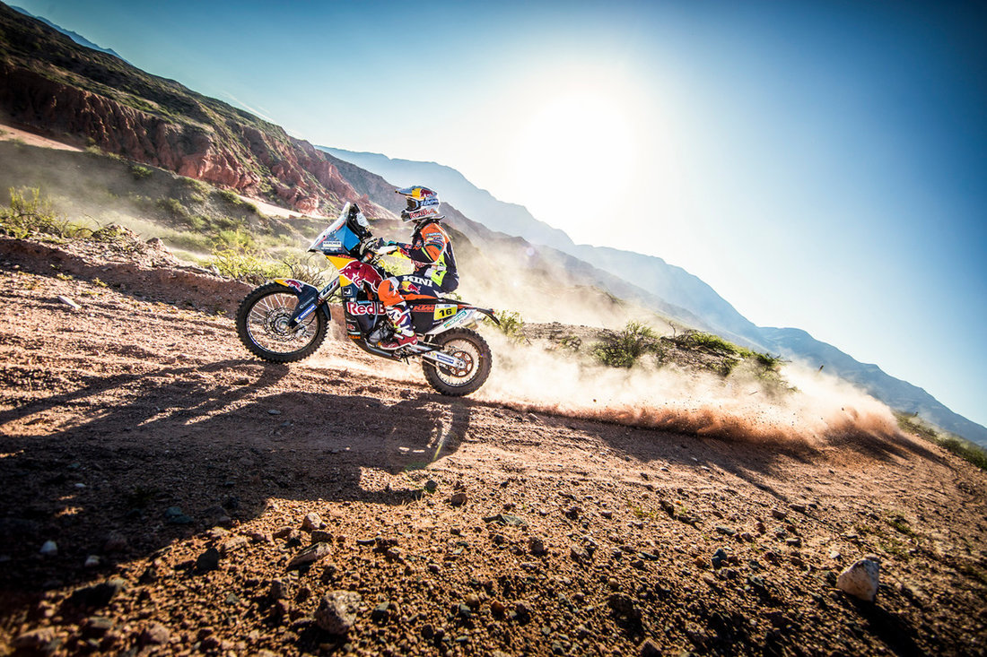Matthias Walkner KTM 450 RALLY Dakar 2017
