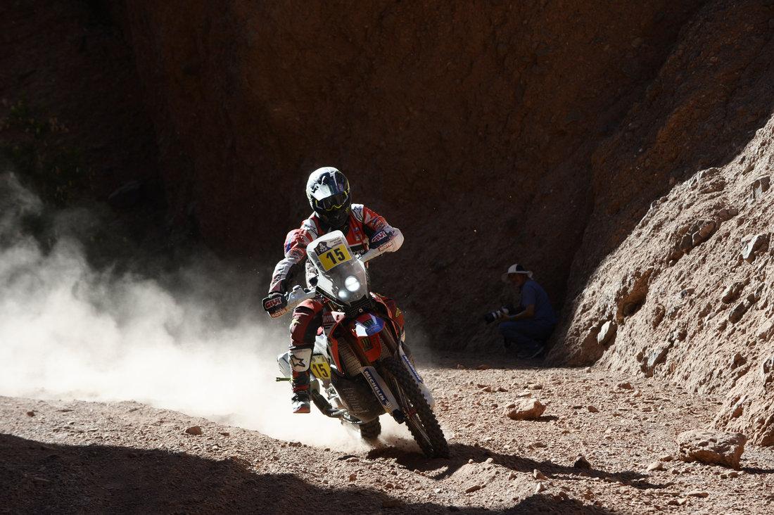 Michael Metge - Dakar 2017 - 3. etapa