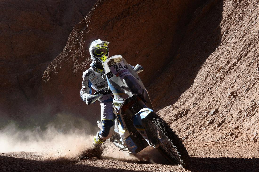 Jacopo Cerutti - Dakar 2017 - 3. etapa
