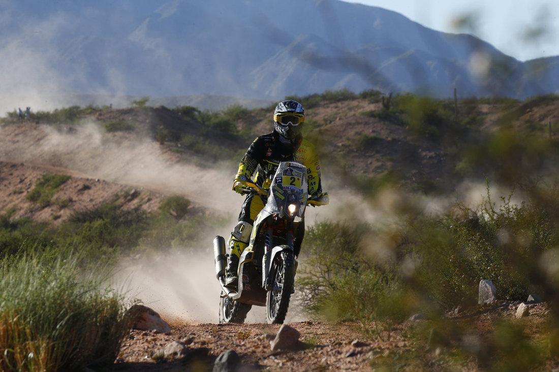 Štefan Svitko - Dakar 2017 - 3. etapa