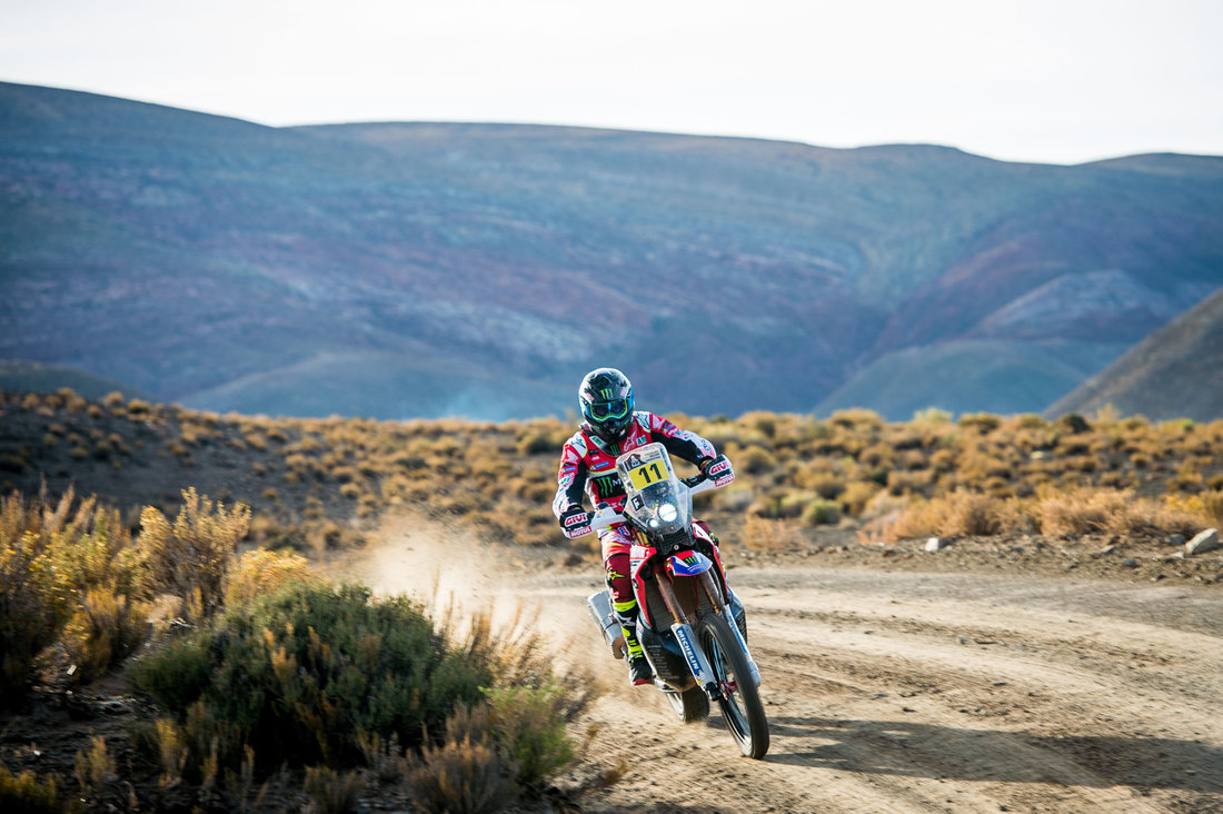 Joan Barreda Bort - Dakar 2017 - 4. etapa
