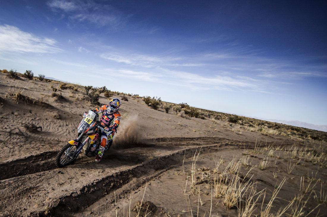 Sam Sunderland KTM 450 RALLY Dakar 2017 - 4. etapa