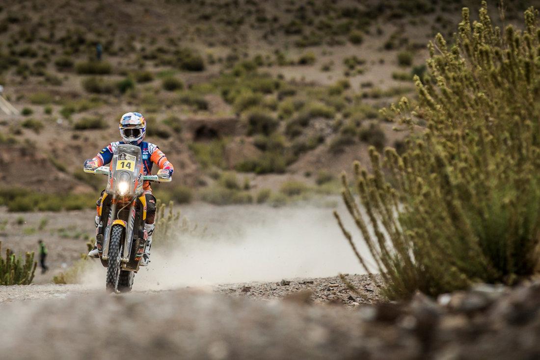 Sam Sunderland KTM 450 RALLY Dakar 2017 - 5. etapa