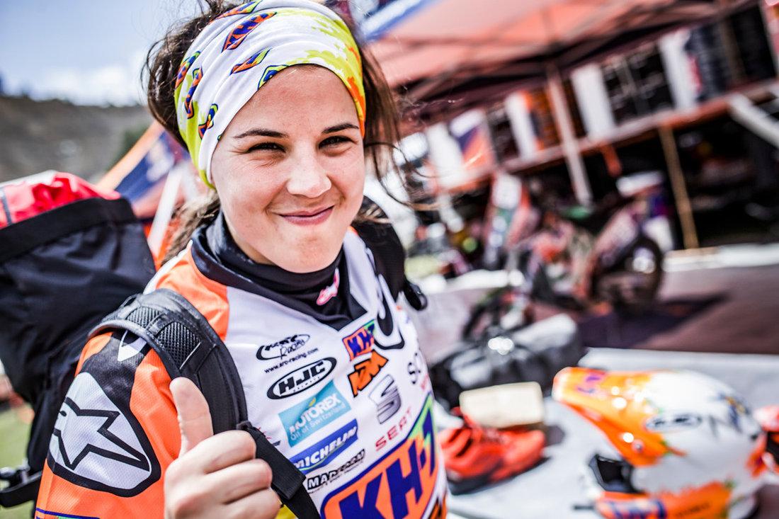 Laia Sanz Bivouac Dakar 2017 - bivak deň voľna