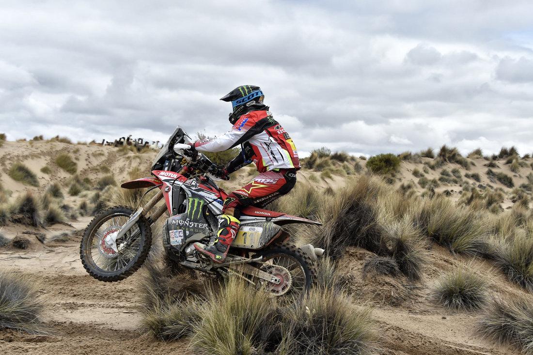 Joan Barreda Bort - Dakar 2017 – 7. etapa - La Paz - Uyuni