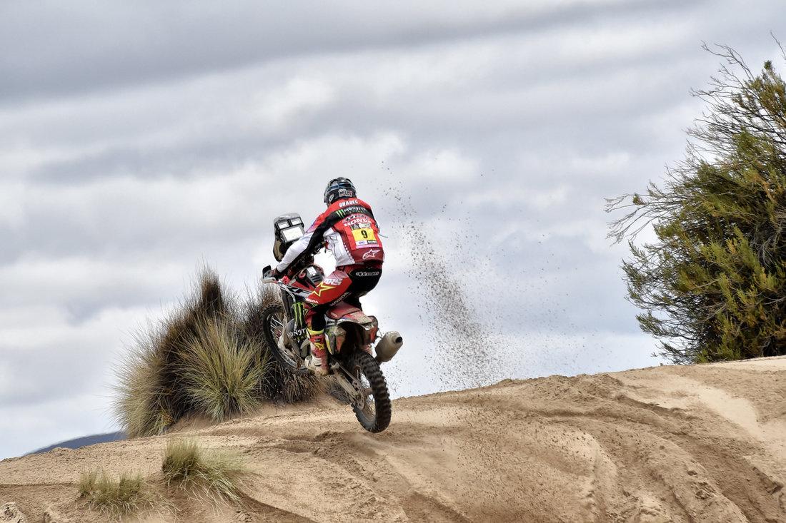 Ricky Brabec - Dakar 2017 – 7. etapa - La Paz - Uyuni