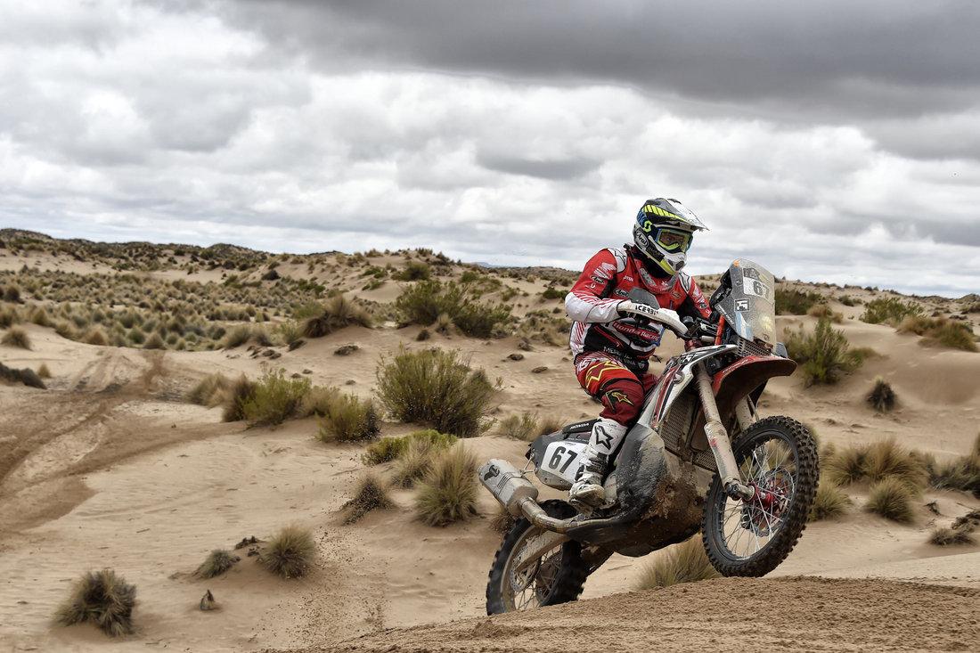 Franco Caimi - Dakar 2017 – 7. etapa - La Paz - Uyuni