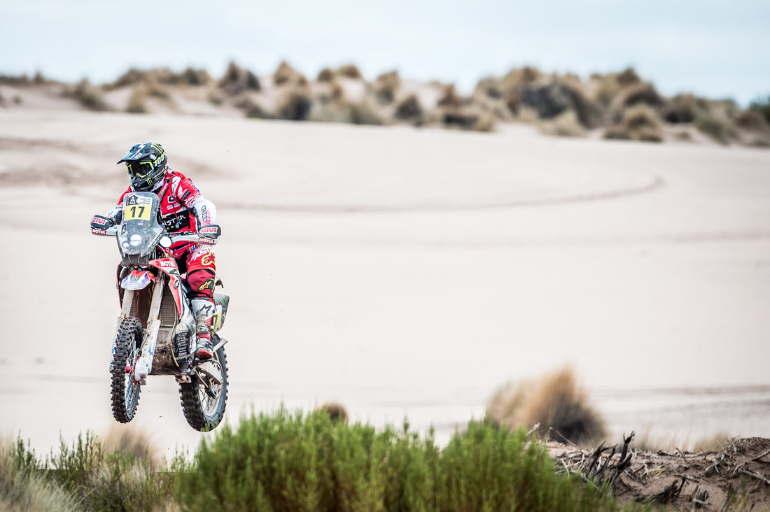 Paulo Goncalves - Dakar 2017 – 7. etapa - La Paz - Uyuni
