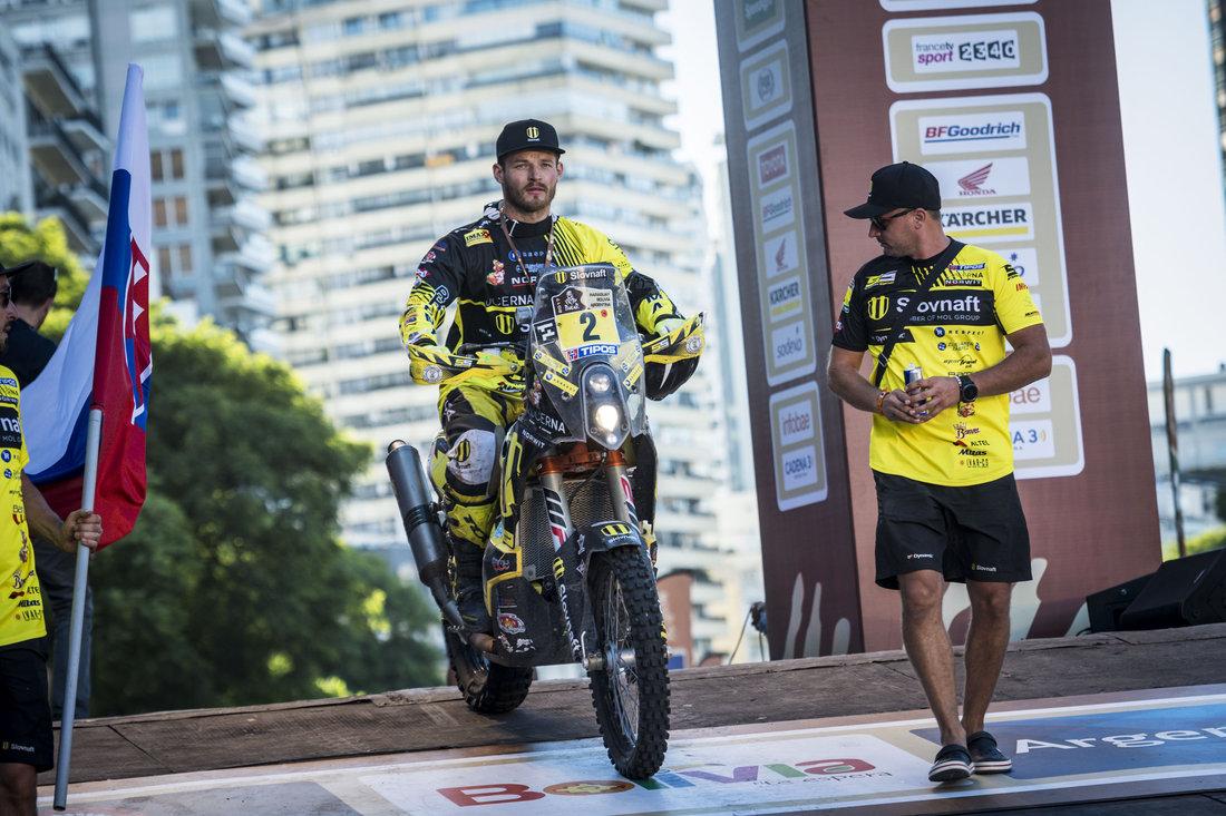 Štefan Svitko v cieli - Dakar 2017