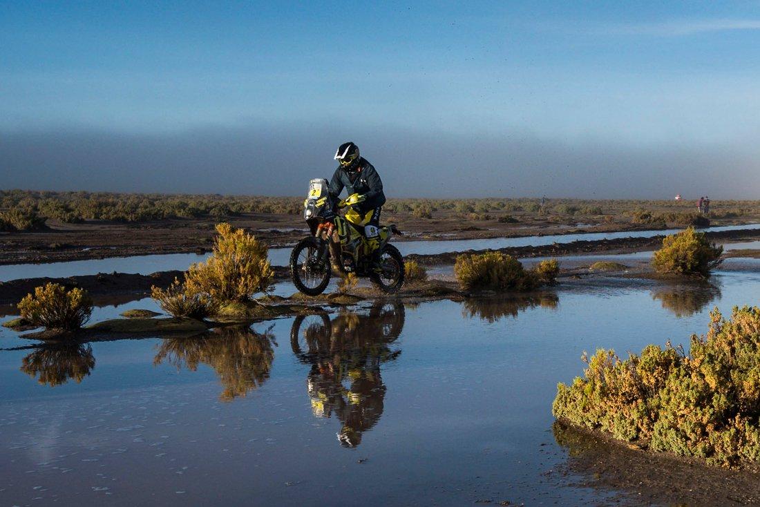 Štefan Svitko - Dakar 2017 - 8. etapa