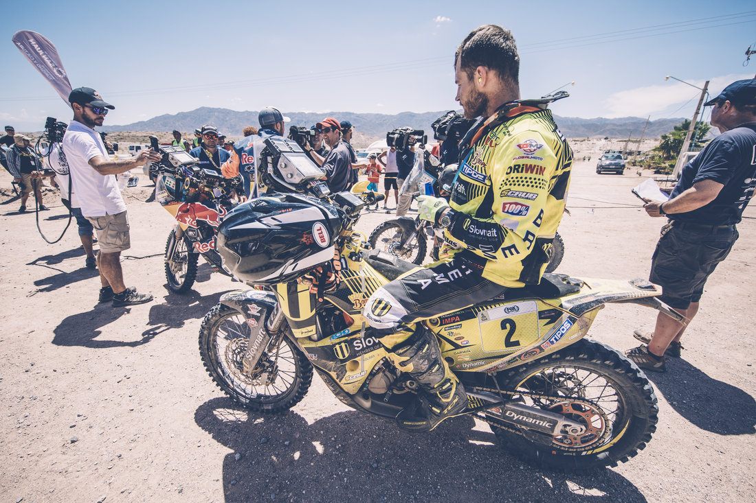 Štefan Svitko - Dakar 2017 - 11. etapa