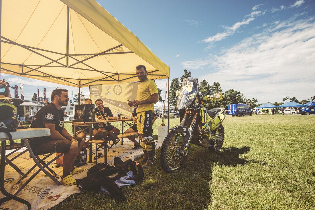 Štefan Svitko a jeho tím - Dakar 2017 - 11. etapa