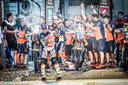 Sam Sunderland _ Team KTM 450 RALLY Podium Dakar 2017