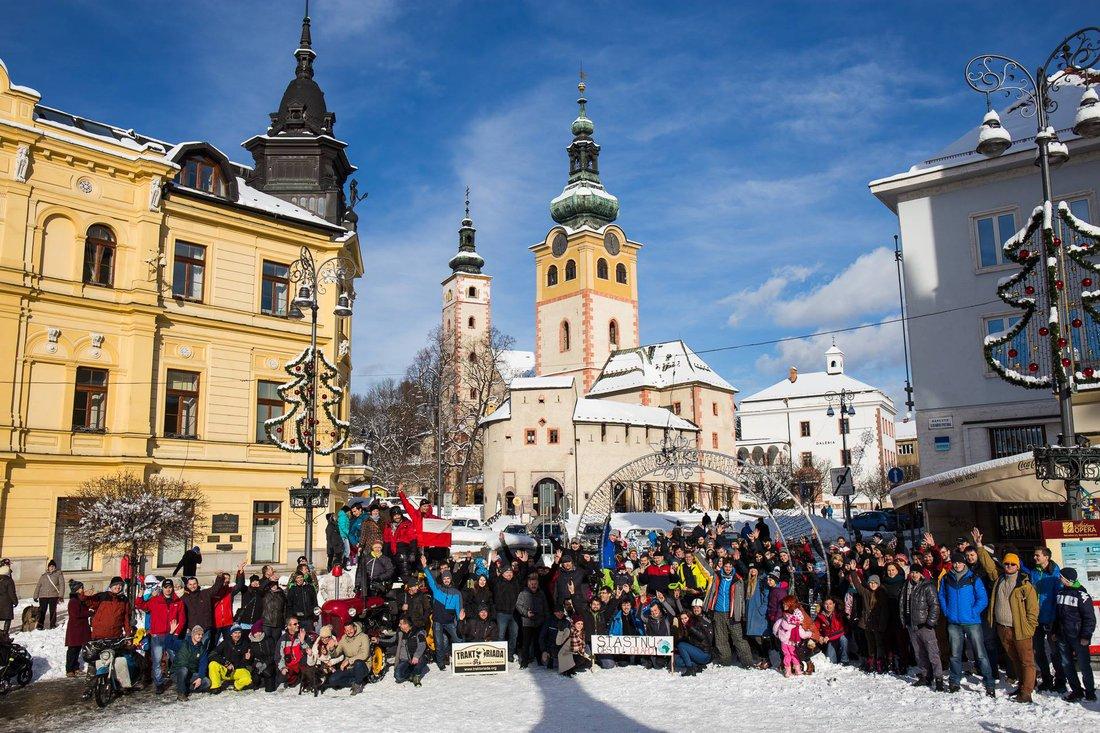 Spoločná foto - Na pionieri do Afriky - Banská Bystrica 14. 1. 2017