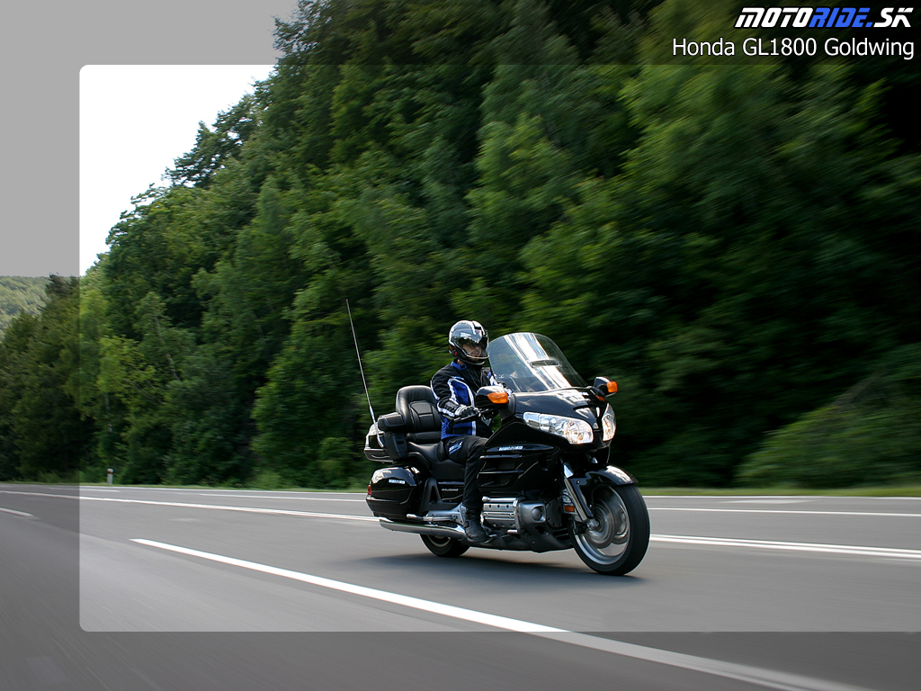 Motoride Gal 233 Ria Test Honda Gl 1800 Gold Wing