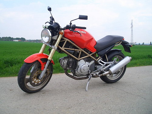 Ducati Monster 600 Tuning At Motorcycle Hd Wallpaper Picture Best
