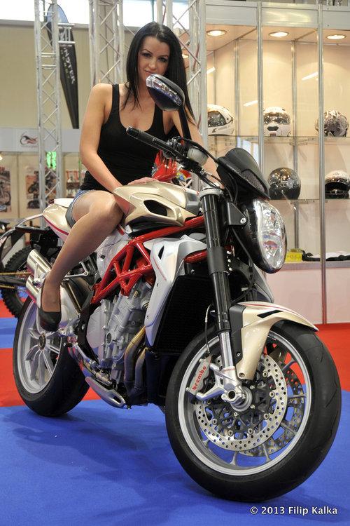 Fotoreport: výstava motocykel 2013
