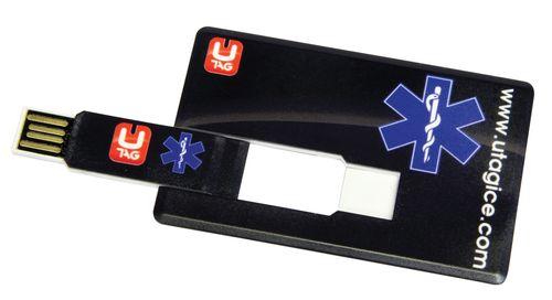 UTAG vo formáte kreditnej karty - vhodný do peňaženky