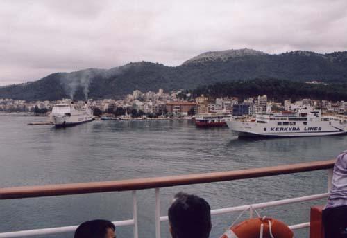 Igumenitsa prístav