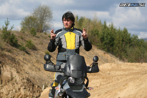 Milan Hol� - in�truktor enduro�koly Touratech