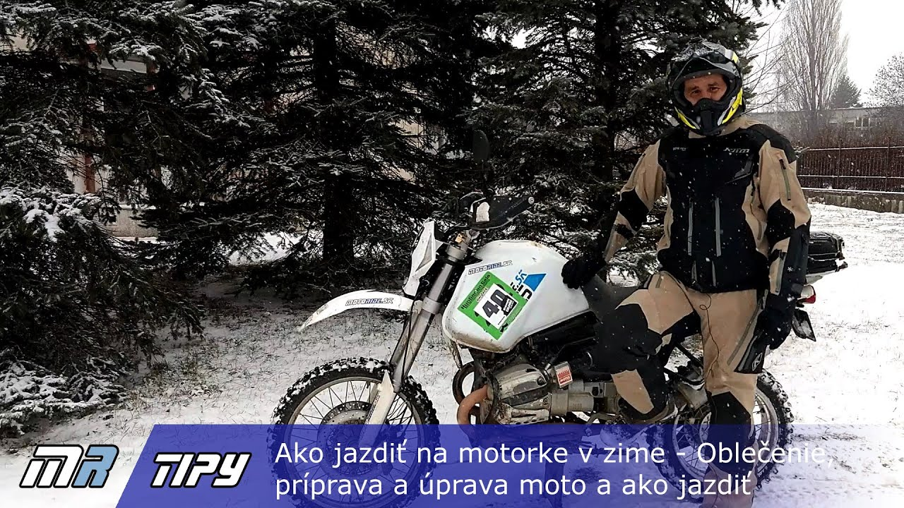MR Tipy  Ako jazdiť na motorke v zime - Oblečenie 6048d6d090