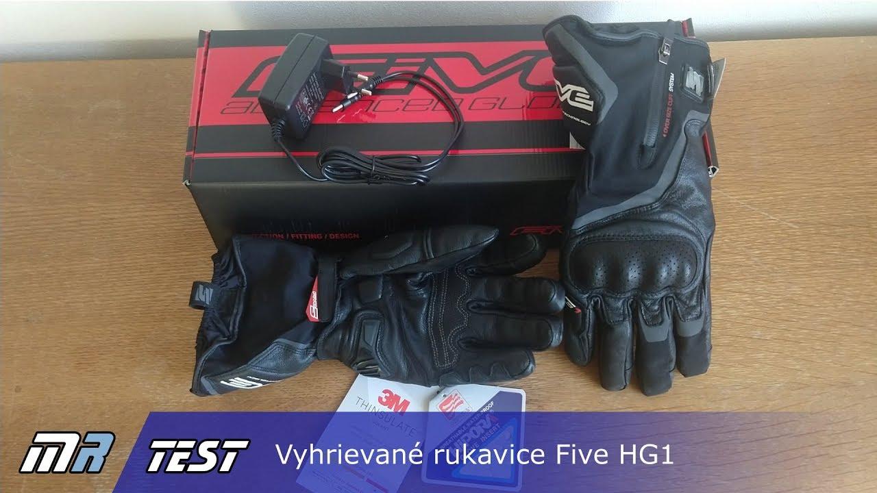 Test vyhrievaných rukavíc Five HG1 - Video   motoride.sk 1b23b8e880